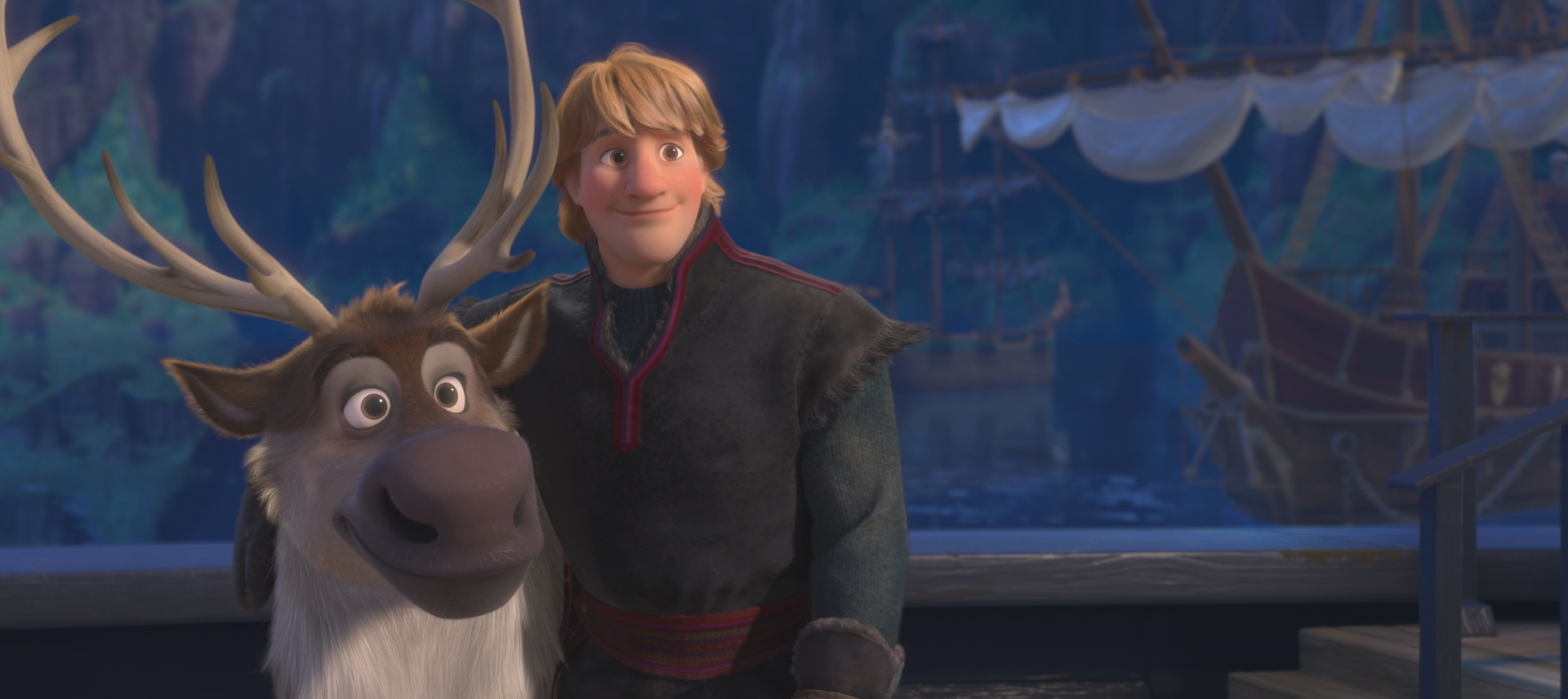 Kristoff wiki once upon a time fandom powered by wikia - Sven dans la reine des neiges ...
