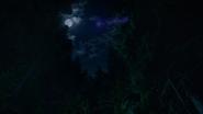 6x09 ciel nocturne pleine lune nuit apparition vol Fée Noire