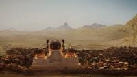 6x05 Agrabah vue ville cité capitale royaume désert palais Sultan