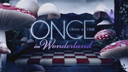 Once Upon a Time in Wonderland logo titlecard générique épisode W1x02