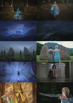 4x01 anecdotes références à Disney La Reine des Neiges Elsa Anna Arendelle Regina Mills