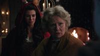 1x15 Mère-Grand Scarlett Chaperon rouge cabane traque loup-garou