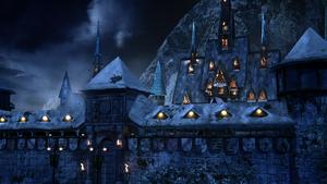 4x09 château palais royal Royaume Arendelle gelé glace