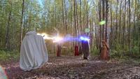 5x08 Emma Swan Merlin Roi Arthur Regina Mills David Nolan Mary Margaret contrôle Excalibur combat magie duel