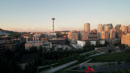7x01 Seattle vue matin Space Needle