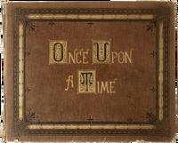 Once Upon a Time couverture livre de contes