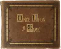 Once Upon a Time couverture livre de contes
