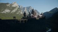 7x01 château palais du Prince nouveau royaume nouvelle forêt enchantée magique