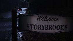 Storybrooke Ortsschild