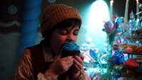 1x09 Hansel mord cupcake réveille Sorcière cannibale