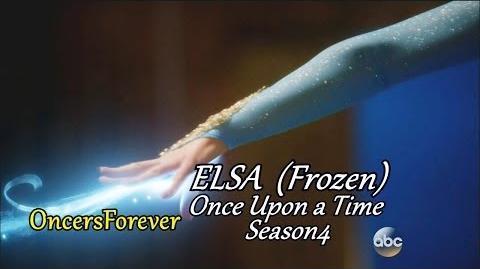 Once Upon A Time 3x21 3x22 Elsa est libérée. Scene Finale