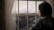 2x17 Regina Mills fenêtre découverte Storybrooke