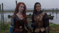 5x09 Merida Mulan front guerre moqueries hommes