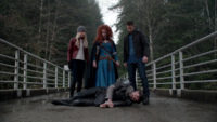5x21 Roi Arthur Merida Emma Swan David Nolan cadavre pont à péage peine