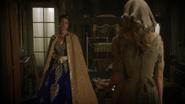 6x03 Clorinda Ella Cendrillon souillon manoir Trémaine explications rose mariage Jacob pantoufle de verre recherche Prince