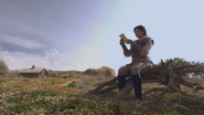 1x10 Blanche-Neige cabane fiole potion lettre message lecture