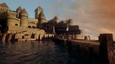 3x06 Royaume maritime château du Prince Éric quai port mer