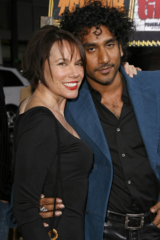 Naveen Andrews Barbara Hershey ensemble couple Cora Jafar