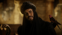 6x05 Jafar bâton sceptre serpent oiseau rouge oracle Iago
