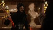 6x05 Jafar palai royal Agrabah bâton serpent cassé lueur rouge statue femme blanche
