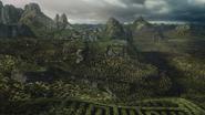 7x08 vue labyrinthe infini montagnes