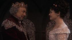 1x11 Roi Leopold Blanche-Neige félicitations compliment