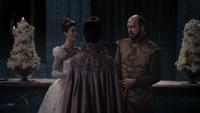 3x18 Princesse Reine Eva Cora Prince Roi Leopold secret mensonge supercherie tromperie révélée