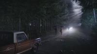 4x12 David Nolan Mary Margaret Blanchard Ursula Cruella d'Enfer retrouvailles nuit limites ville Storybrooke secret voiture DEV IL