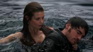 4x15 Ariel sauvetage Killian Jones Capitaine Crochet