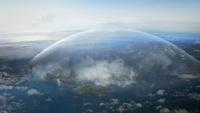 2x09 Royaume enchanté région dôme protecteur charme de protection refuge île des survivants
