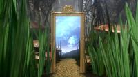 1x17 miroir magique entrée Pays des Merveilles