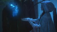 2x15 Fée Bleue Cora double-bougie magique jeune Blanche-Neige enfant explications