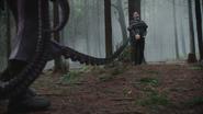 4x15 Ursula tentacule forêt de Storybrooke Killian Jones Crochet marché