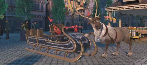 La Reine des Neiges (Disney) Sven nouveau traîneau épilogue