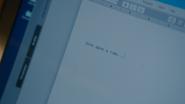 7x01 écran ordinateur portable programme logiciel traitement de texte ligne d'ouverture introduction Once Upon a Time Il Était une Fois
