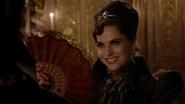 6x02 Méchante Reine Regina France du 19ème siècle sourire éventail marché Comte de Monte-Cristo