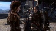 2x11 Belle Mulan épée récit histoire armée de l'Empereur hommes brutes idiots