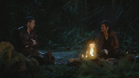 3x22 Prince Charmant Crochet Killian Jones Charles forêt discussion
