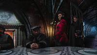 Sept nains Gardes noirs Méchante Reine Blanche-Neige Prince David Palais sombre 4x22