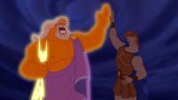 Zeus fils Hercule éclaires film Disney Hercules