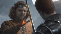 1x06 Roi Midas Prince James main toucher d'or dorée épée magie
