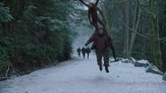 3x13 Joyeux Compagnons Petit Jean enlèvement Singe Volant frontière limite de Storybrooke