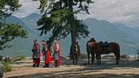 5x01 Lancelot Roi Arthur Perceval chevaux lac
