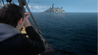 4x22 Henry Mills longue-vue tour d'Emma île Mer sans Fond Jolly Roger