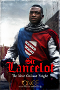 Once Upon a Time season 5 Sir Lancelot The Most Gallant Knight poster