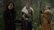 6x10 Regina Mills Prince David Uchronie Blanche-Neige Uchronie attaque Méchante Reine tentative rappeler Emma passé Sauveuse forêt