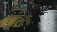 3x12 Emma Swan Killian Jones Capitaine Crochet Storybrooke voiture