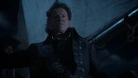 5x15 Capitaine Long John Silver voile bateau navire vaisseau fixe horizon tempête