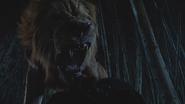6x18 Lion Poltron patte poitrine Zelena Méchante Sorcière de l'Ouest proie rugissement