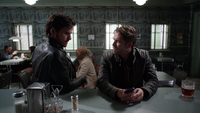 5x03 Robin (Storybrooke) Killian Jones échographies Café Mère-Grand
